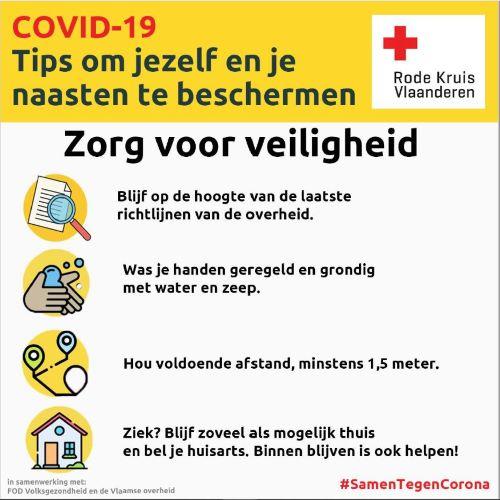 poster rode kruis: tips om jezelf en je naasten te beschermen (PDF)