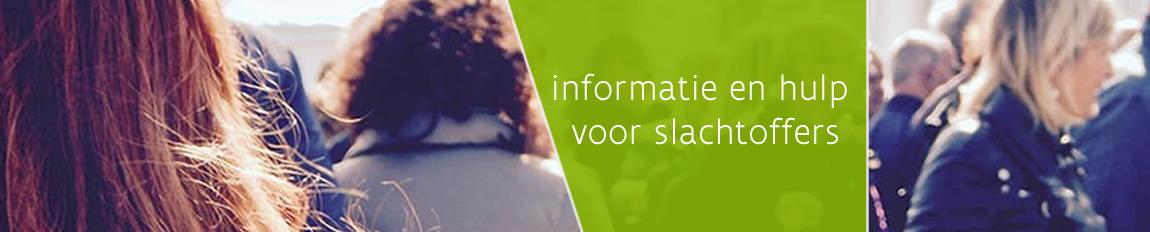 informatie en hulp voor slachtoffers